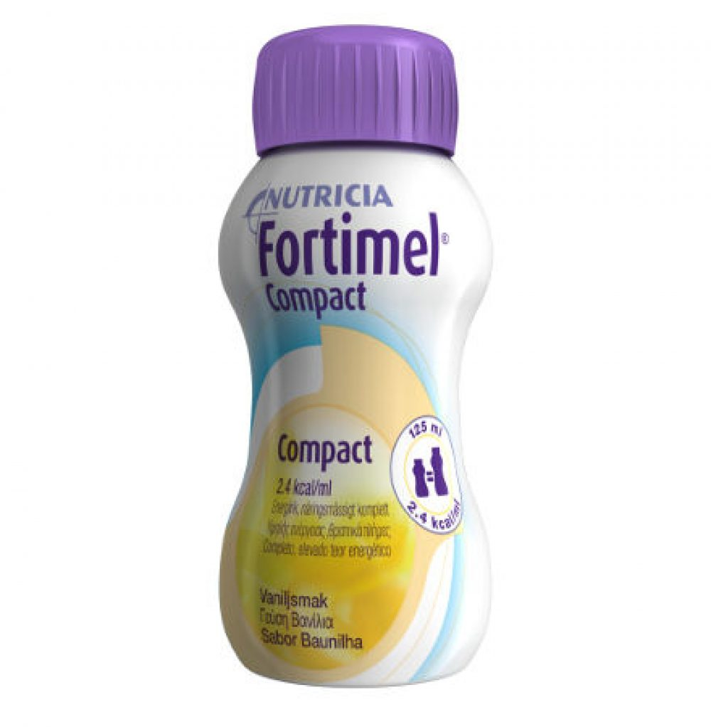 Fortimel Compct Βανίλια 125ml Συμπλήρωμα Διατροφής