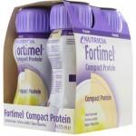 Fortimel Compct Βανίλια 4 x 125ml Συμπλήρωμα Διατροφής