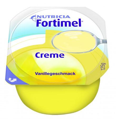 Fortmel Crèma Βανίλια 125gr Συμπλήρωμα Διατροφής
