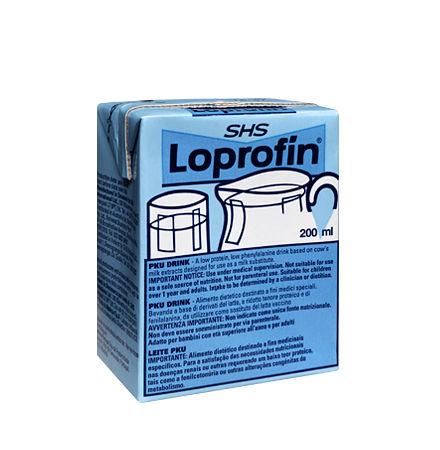 Loprofin Υποκατάστατο Γάλακτος Tetrapack 200ml Σκευάσματα Ειδικής Διατροφής