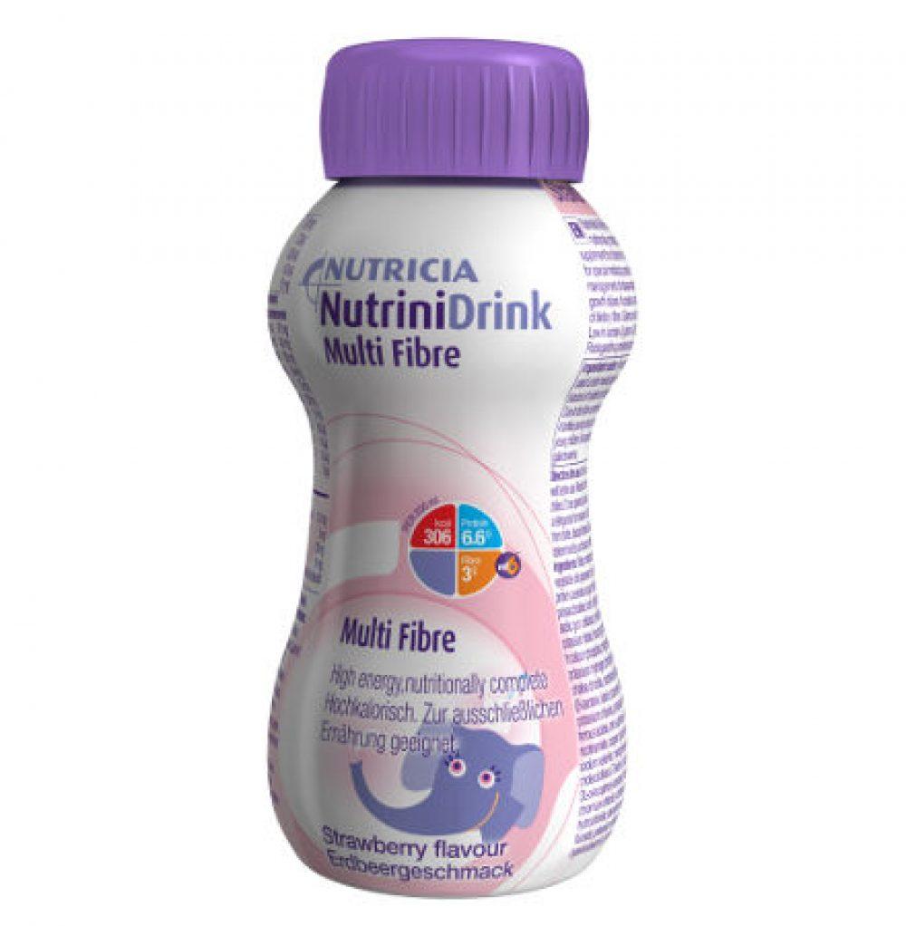 Nutrini Drink MF Φράουλα 200ml Συμπλήρωμα Διατροφής