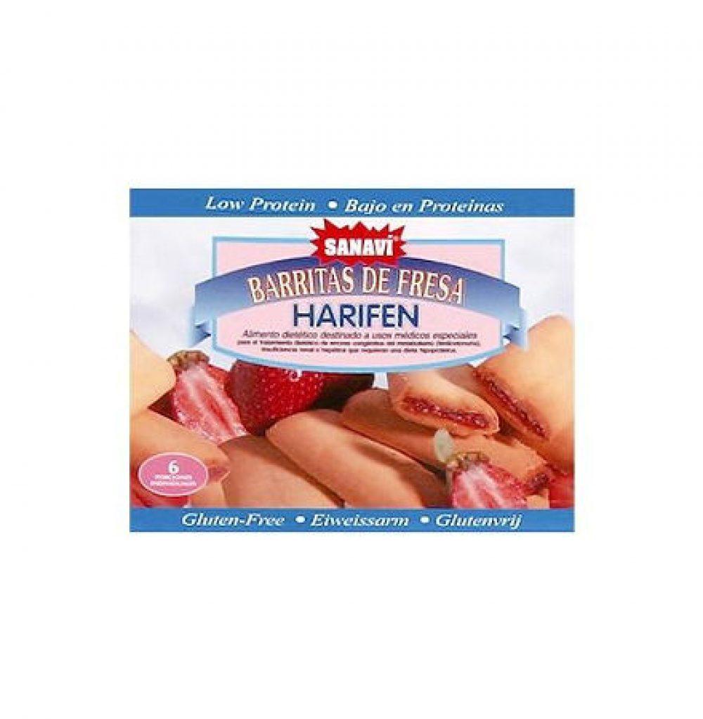 Harifen Μπισκότα Φράουλας Σκευάσματα Ειδικής Διατροφής