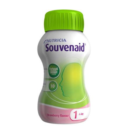 Souvenaid Φράουλα 125ml Συμπλήρωμα Διατροφής